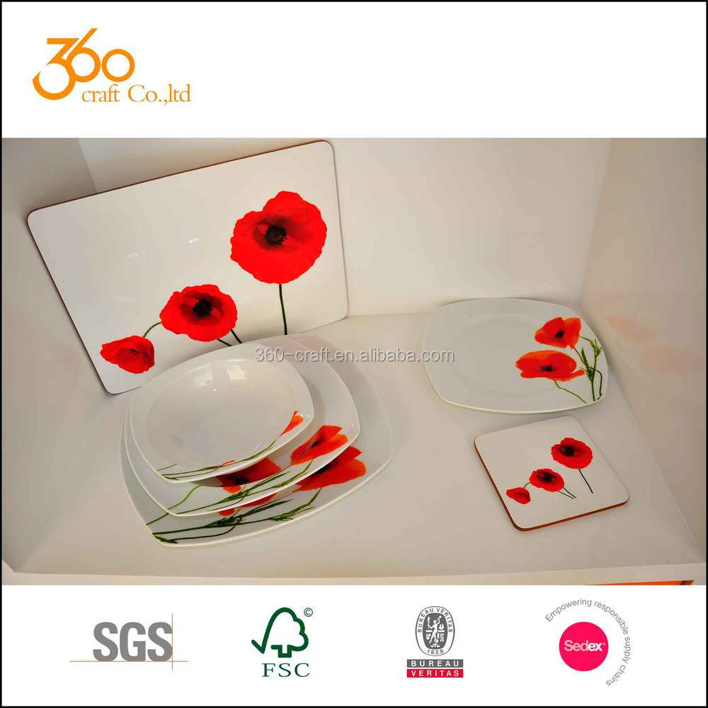 Popular Poppy Decaled Square Porcelain Dinnerware Set - Buy Porcelain Dinnerware SetSquare Porcelain Dinnerware SetDecaled Square Porcelain Dinnerware Set ...  sc 1 st  Alibaba & Popular Poppy Decaled Square Porcelain Dinnerware Set - Buy ...