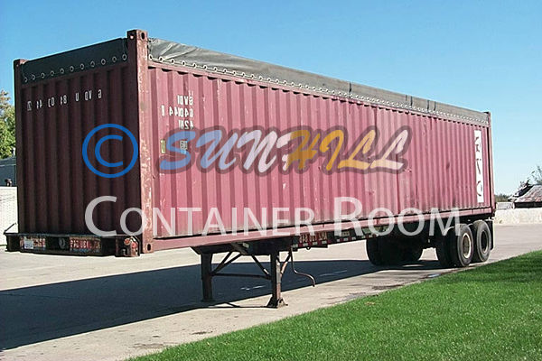 CIMC New/Used 40ft Open Top Container with Competitive Price