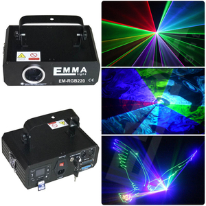 500mW RGB Color Stage Lights Moving Heads Beam Laser Show Projector With Sound