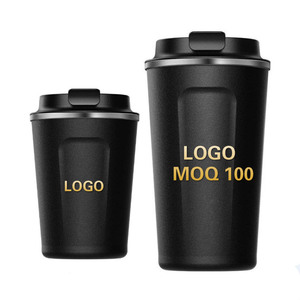 0de5c6a0147 Custom Logo Original Mini Coffee Double Insulated Thermos Vacuum Flask  Bottle Stainless Steel Water Coffee Cup Mug with Lid