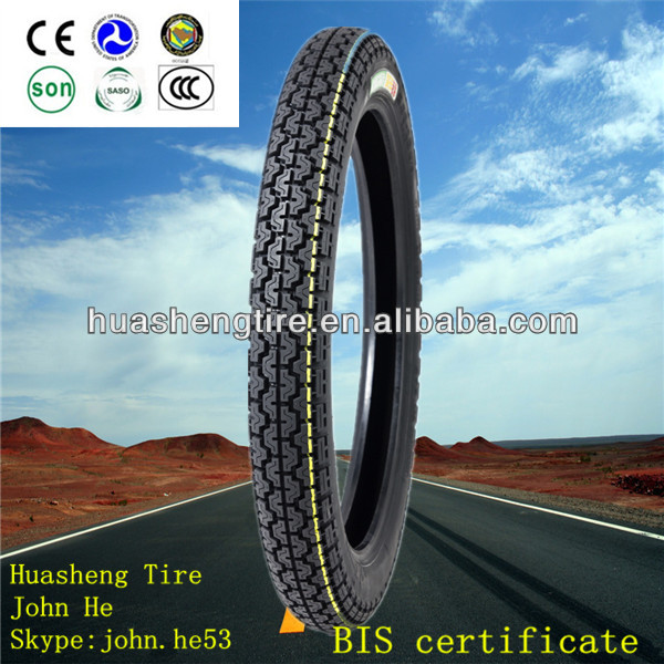 Hot sale motorcycle tire! China bias tires manufacturer tire motorcycle 3.00-18