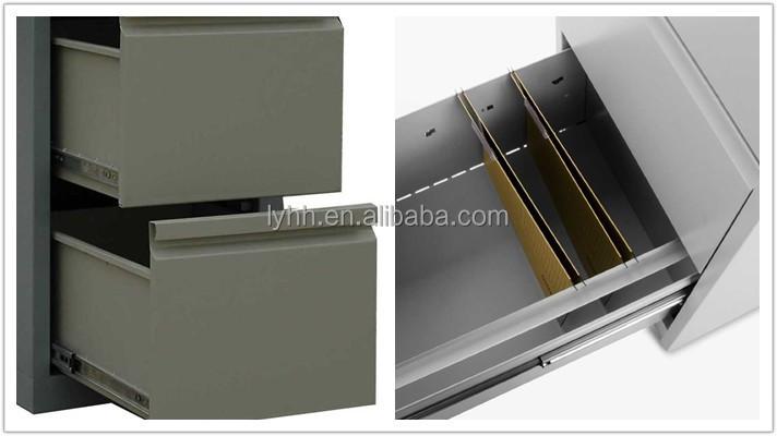 Durable Metal File Cabinet Dividers Plastic Vertical Office ...