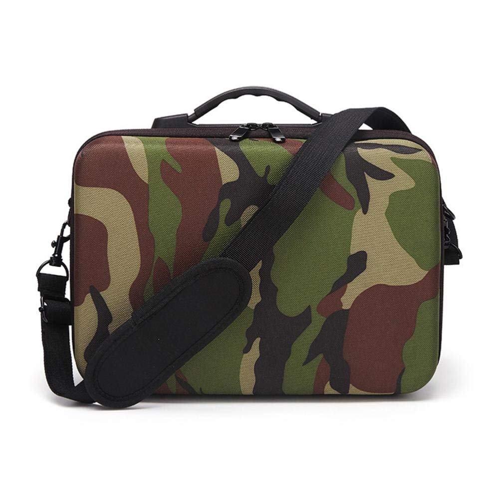 Gbell Shoulder Bag Protector EVA Internal Waterproof Travel Carry For DJI MAVIC AIR Drone (Camouflage)