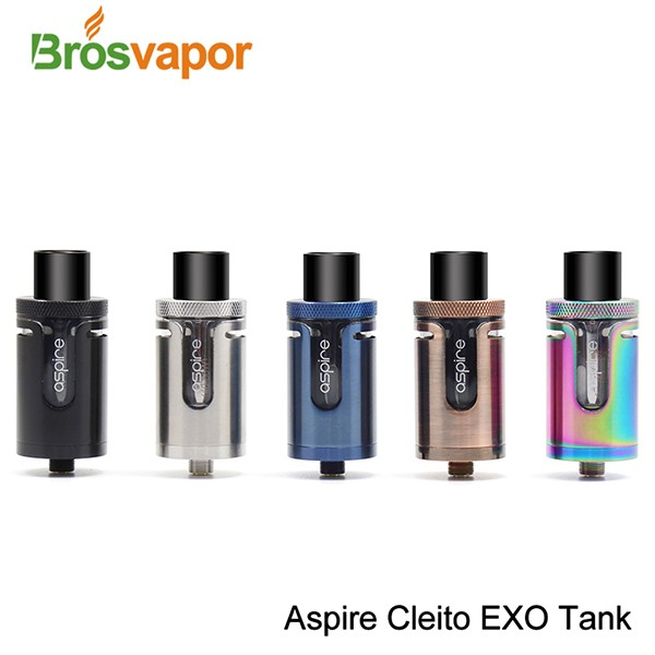 2017 Aspire Newly Released Cleito EXO Tank, First Batch EXO Cleito Meet TPD Regulations