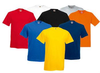 100% Cotton Plain Multi-colour T-shirt - Buy Plain Heavy 100% Cotton ... 17e4459904b
