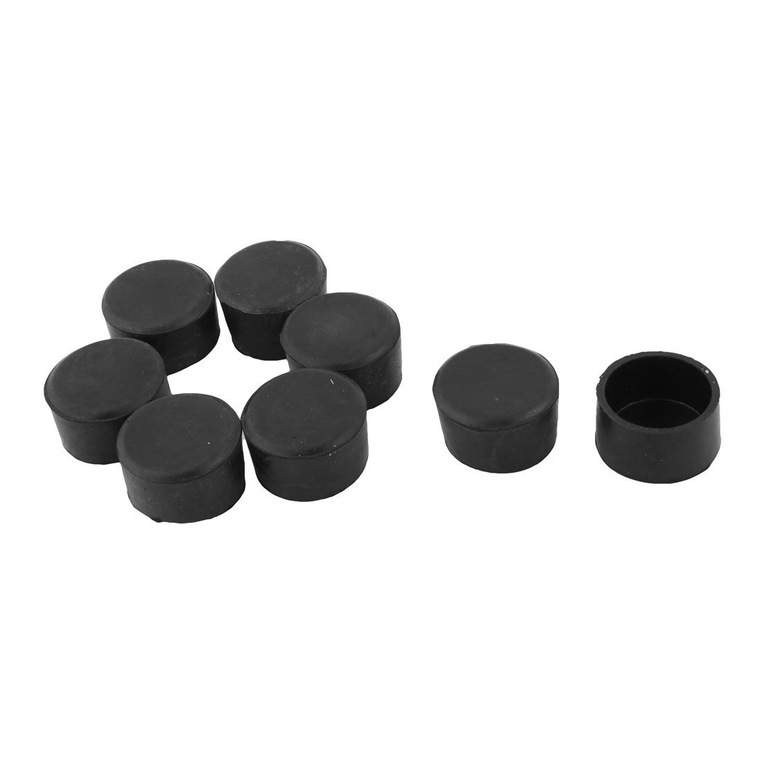 Get Quotations · Uxcell Rubber Home Chair Table Foot Protective Cover Pad  Furniture Leg Caps 38mm Inner Dia 8pcs
