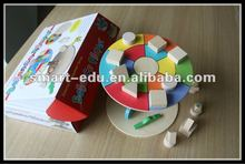 Colorful Educational wooden toys--balance player for IQ development