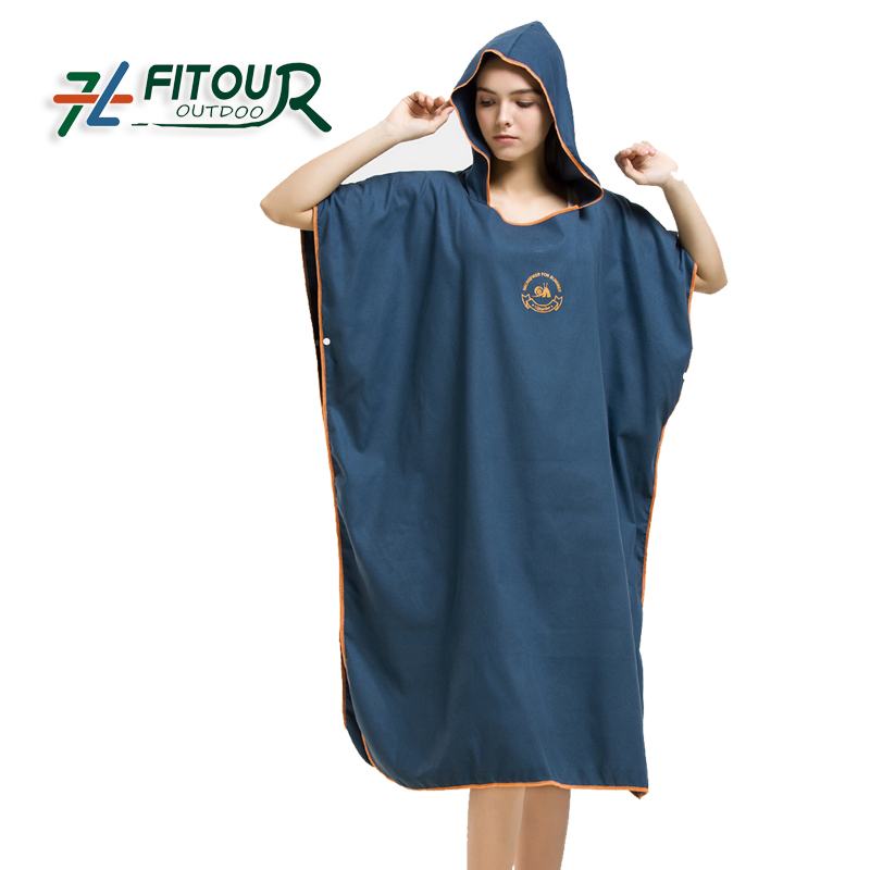 China wholesales BSCI factory supplier luxury gift microfiber robe for beach muddy <strong>promotion</strong> /travel / pool party /spa/club