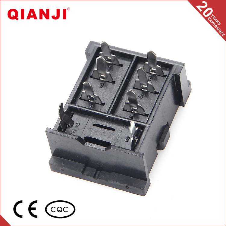 QIANJI Online Shop China PY08B-A Relay Socket Suit For MY2N-J HH52P Relay