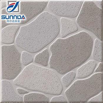 Rock Looking Glazed Ceramic Floor Tile