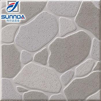 Rock Looking Glazed Ceramic Floor Tile 300x300mm Used For Kitchen Bathroom Garden