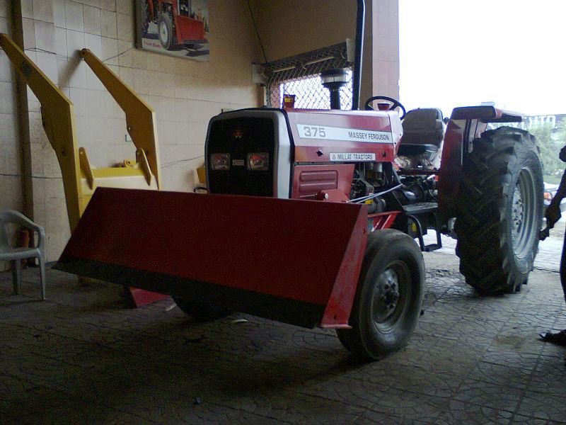 Mf 375 (75hp)tractor