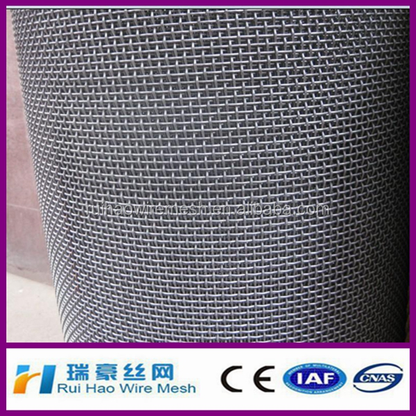 plain weaving 304 stainless steel crimped wire mesh