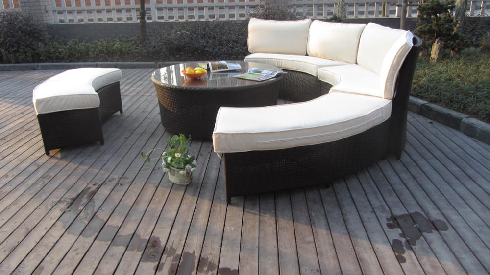 Único Muebles De Jardín De Ratán Homebase Galería - Muebles Para ...