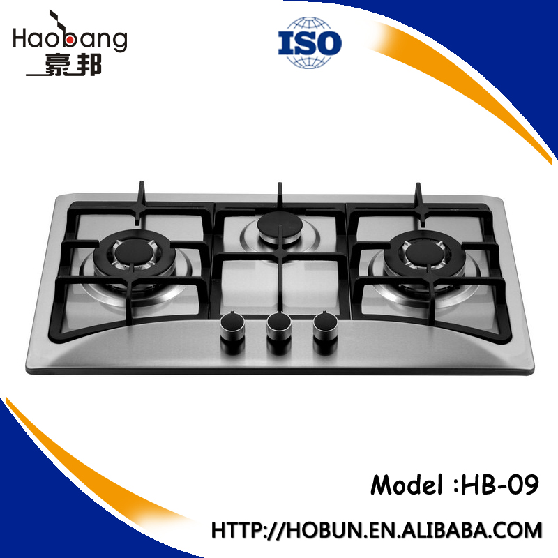 Attractive Portable Stainless Steel 3 Burners Gas Stove,Cooking Appliances/cooktops,Gas  Oven   Buy Portable Stainless Steel 3 Burners Gas Stove,Cooking ...