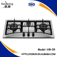 Portable stainless steel 3 burners gas stove, Cooking Appliances/Cooktops, gas oven