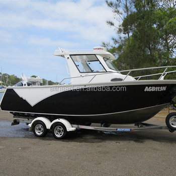 Allheart 6 85m Cabin Aluminum Fishing Boat Buy Used Aluminum Boats Cheap Aluminum Boat Product On Alibaba Com