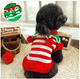 Custom Fashion Heated Unique Pet Clothes Knitted Christmas Dog Sweater