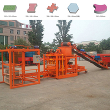 Small Scale building material machinery QTJ4-26 Interlocking Brick Machine