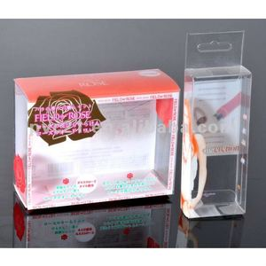 Fashion frosted&transparent PVC box clear rigid plastic boxes