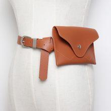 Поясная Сумка для путешествий, роскошный дизайн, поясная сумка, маленькая Женская поясная сумка для телефона, сумка в стиле панк, кошелек, че...(Китай)