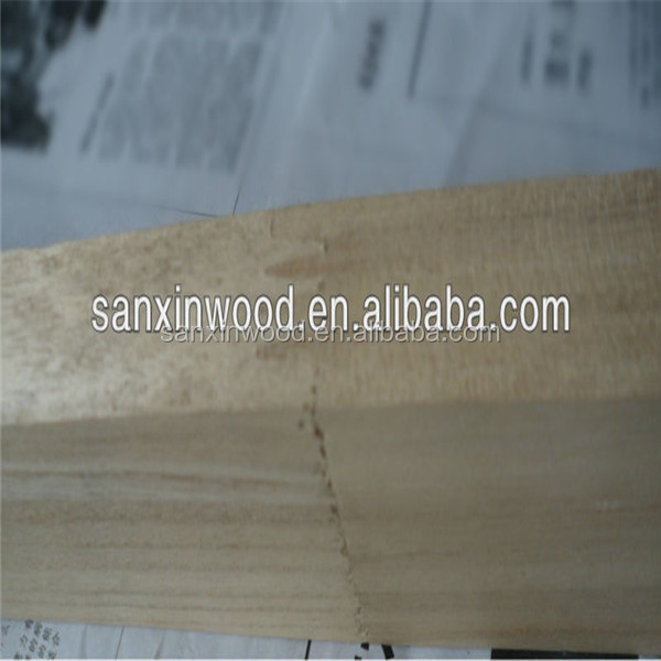 factory price high quality edge glued panel/paulownia wood board