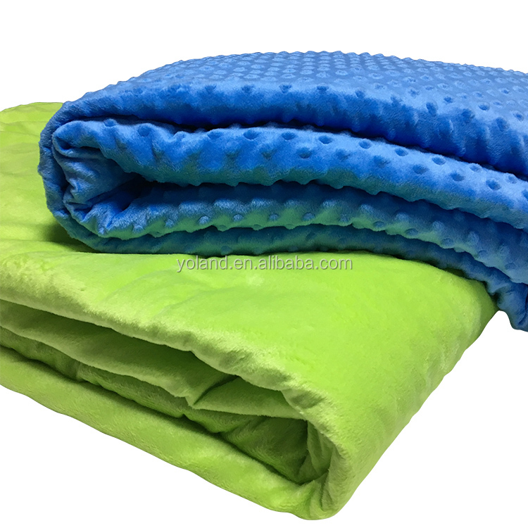 Weighted Blanket For Autism and Insomnia, Sensory Gravity Blanket