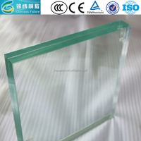 Clear Float Tempered Glass Price for Canada