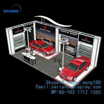 Trade Show Display Booth Design For Car Show Buy Trade Show - Car show booth