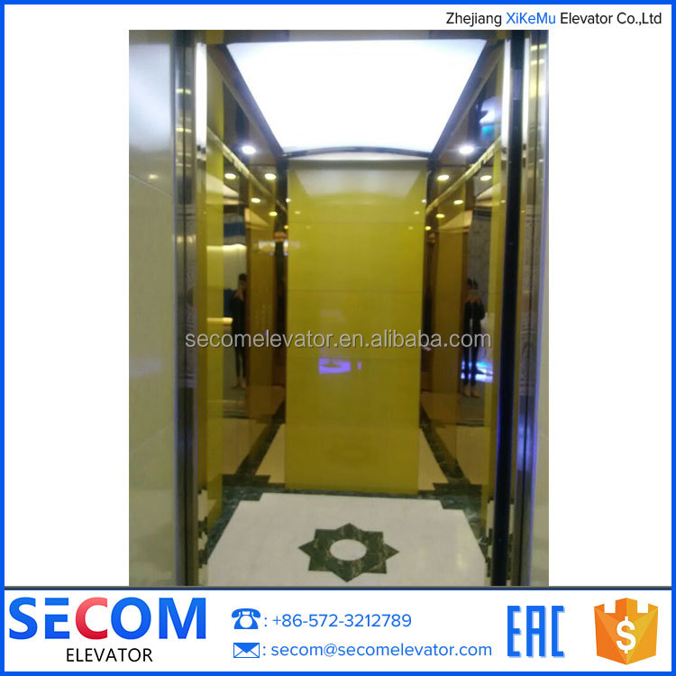 Small Home Elevator 2 Person Lift Villa Passenger Elevator