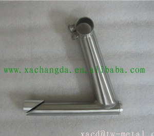 titanium bicycle stem custom titanium bicycle frame parts factory direct supply all kinds bike frame item