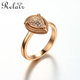 Wholesale costume jewelry from china rose gold vintage wedding ring