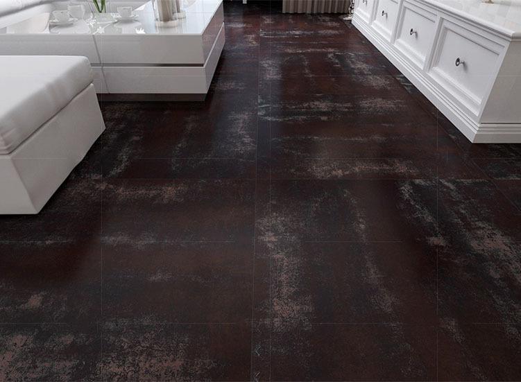 Piastrelle gres porcellanato oraitaliana ruggine pavimenti interni