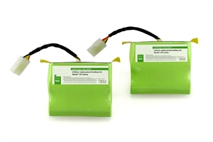 7.4v 4400mAh 18650 Lithium ion Replacement Battery for Neato XV Series (Set of 2)