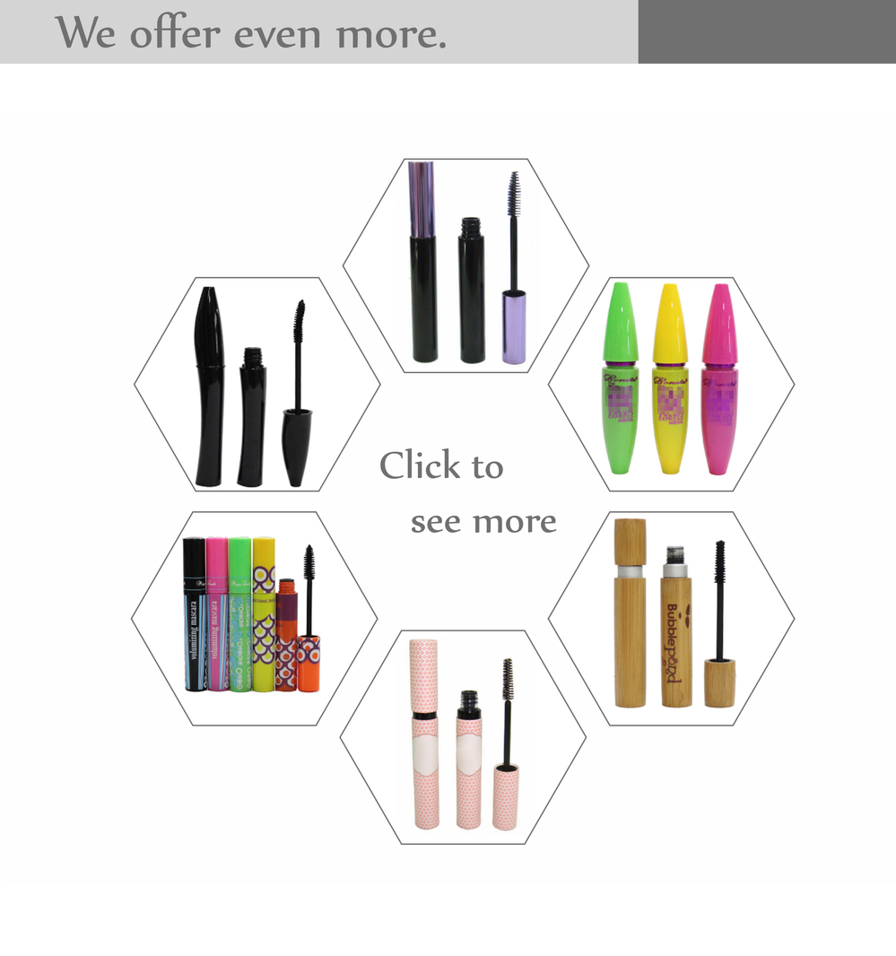 Aluminium screw cap acrylic container eyeliner tubes with brushes waterproof liquid eye liner