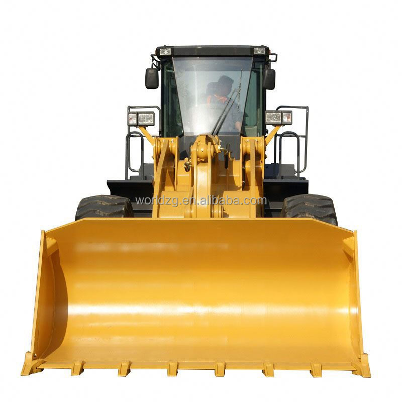 straw bale loading construction loader(5ton)