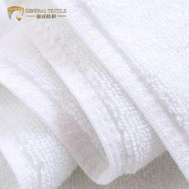 32S Pure Cotton 120g White Egyptian Cotton Hand Towel for Hotel Sport SPA