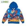 2016 New Baby boys Spring Autumn Coat Kids Spiderman Jackets Coats Children Hoodie Outerwear
