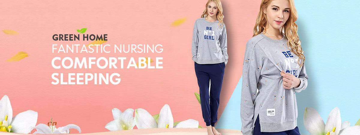 9f4f32f716 Green Home Floral Maternity Nursing Dress Four Colors Pregnancy Short Dress  For Pregnant WomenMOQ  3 PiecesUS  2.67 - 3.26 Piece