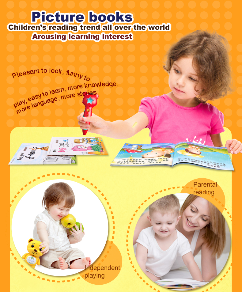 Hongen EQ Training Bilingual Picture Books