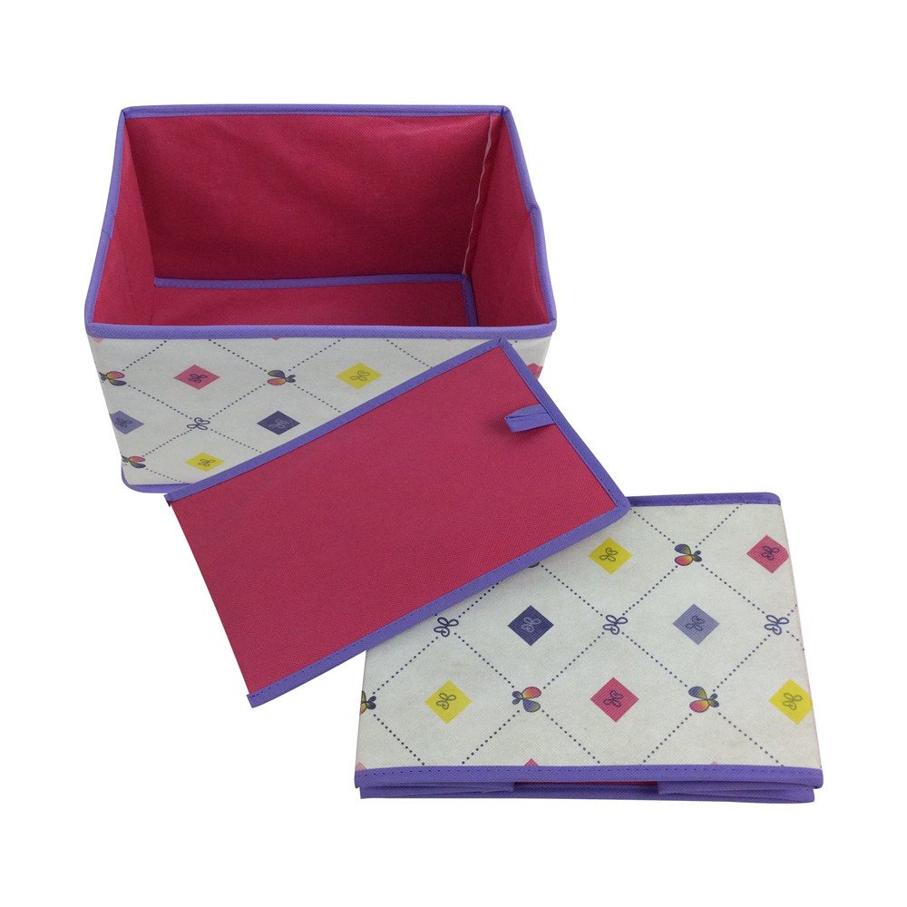 BSCI supplier rectangular foldable pp nonwoven storage box