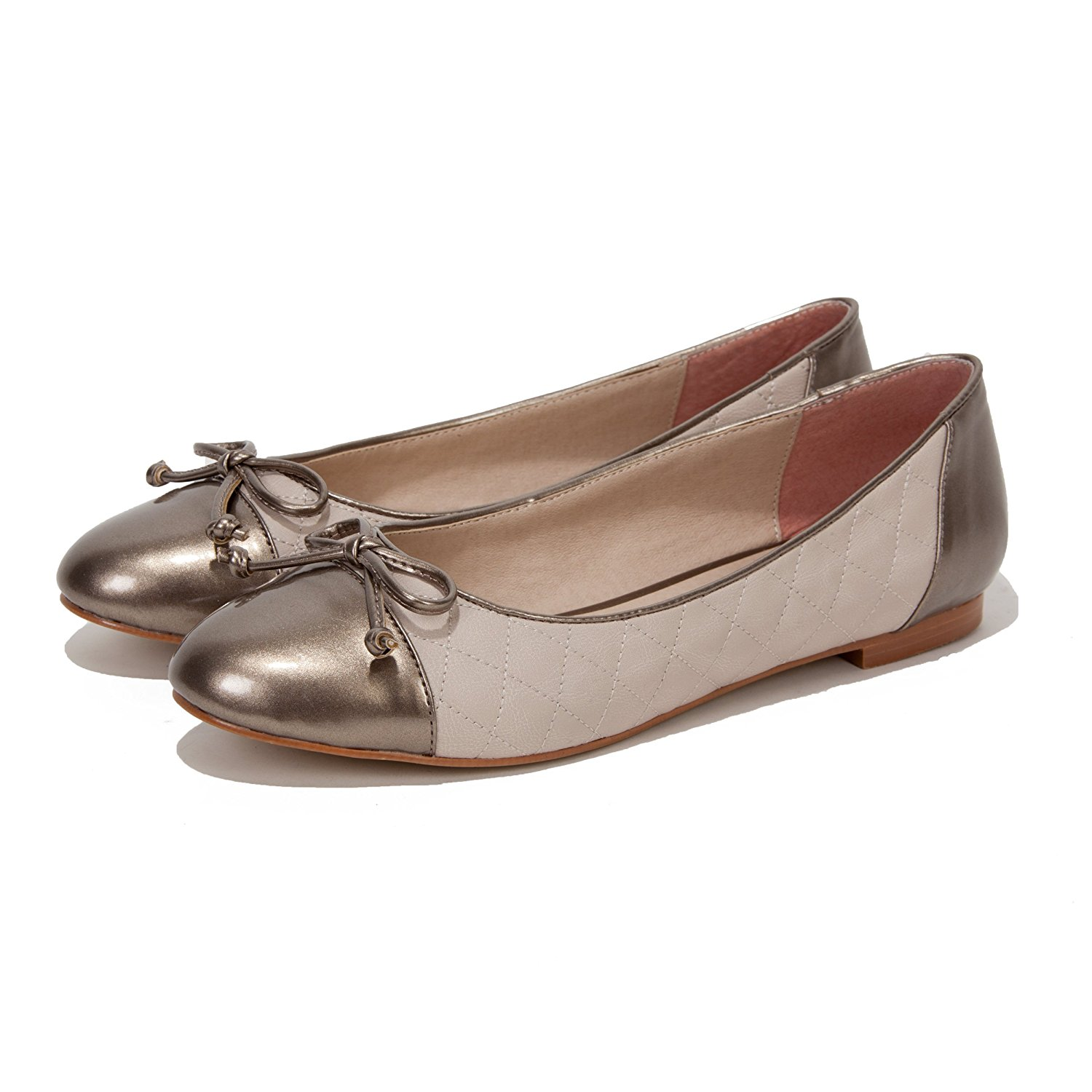 98ab2181e4d36 Get Quotations · Quilla Ballet Flats - Ballet Flat Shoes - Flats for Women  - Quilted Leather Ballet Flats