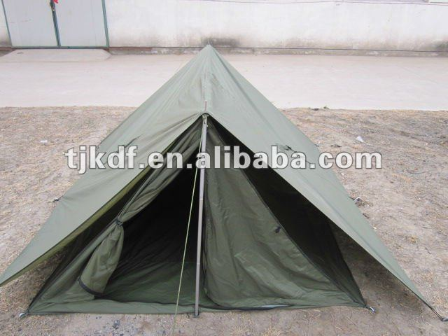 Camping army French tent