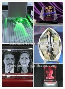 Larger Size Diode 3D Photo Inside Glass Laser Draw Machine