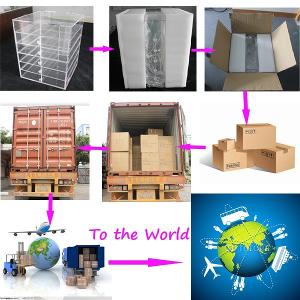 Hot Selling Food Display Case Wholesale Food Drink Display Case Food Container Box Display Case for Bread Cake Bakery
