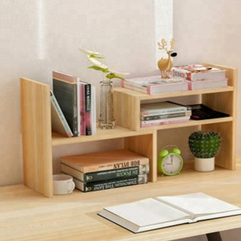 Student Desk Wooden Book Shelf