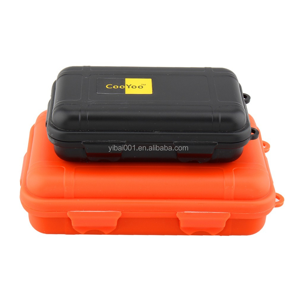 Outdoor Shockproof Waterproof Airtight Survival Storage Case Container Carry Box Travel Sealed Containers For Storage Matches