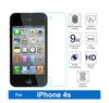 Factory Price 0.3mm 9h Flat Edge Tempered Glass Film Screen Protector Guard for Iphone 4 for Iphone 4s