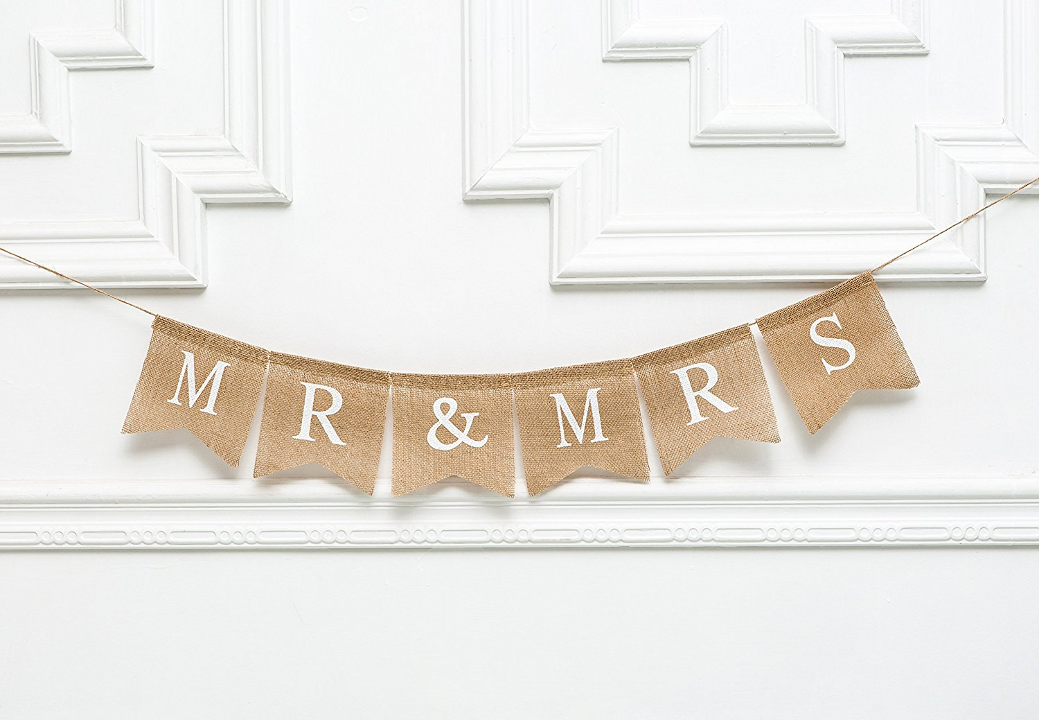 Get Quotations Mr Mrs Personalised Wedding Banner Rustic Customize Burlap