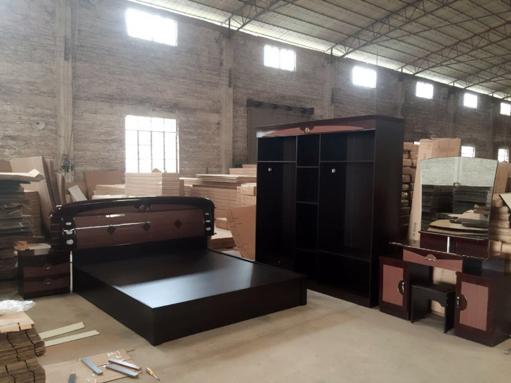 MDF Home Furniture Bedroom Set